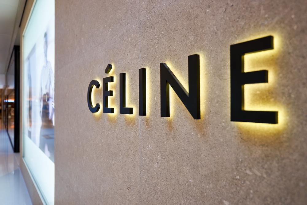 Hong,Kong,-,January,26,,2016:,Celine,Logo,On,The