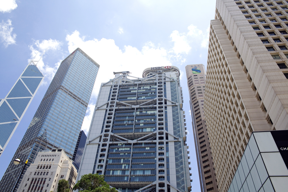 Hong,Kong,-,July,5:,The,Hsbc,Main,Building,,Headquarters